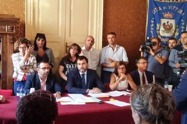 Il movimento politico Sviluppo Ibleo solidale con il sindaco Giovanni Moscato