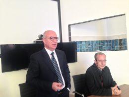 Il dr. Lombardo, nuovo Direttore Amministrativo dell'ASP, ha partecipato alla celebrazione di San Luca, Patrono dei medici