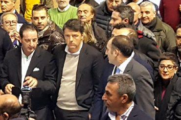 Matteo Renzi a Ragusa per conoscere la realtà della Passalacqua come società sportiva