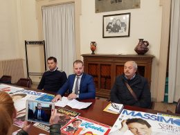 Natale Barocco 2017: il vice sindaco Massimo Iannucci in grande spolvero