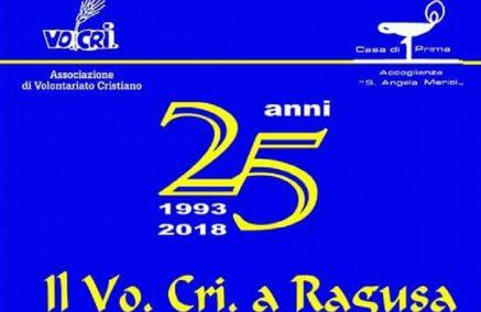 25 anni del Vo.Cri a Ragusa