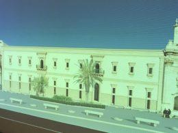 A Scicli, fatti e non parole per la facciata della Lipparini in piazza Italia