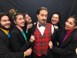 """Il teatro dell'assurdo con l' """"Aumento"""" di Perec portato in scena dalla Compagnia G.o.D.o.T."""