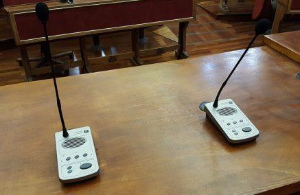 Consiglio comunale: di nuovo, solo l'impianto audio video