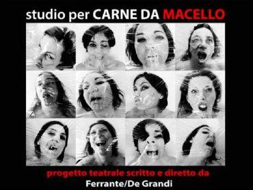 """Studio per """"Carne da Macello"""", la violenza sulle donne e il femminicidio sul palcoscenico del Teatro Naselli di Comiso"""