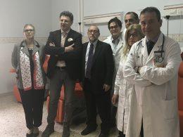 """AIL dona tre poltrone all'U.O. di Ematologia dell'ospedale """"M. P. AREZZO"""""""