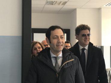 L'assessore Razza e il Commissario Ficarra in visita al Maggiore di Modica