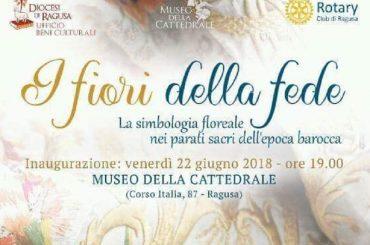 Al Museo della Cattedrale la mostra ''I fiori della fede''