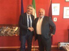 Visite istituzionali di cortesia del Sindaco Cassì