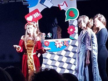 Un progetto teatrale innovativo, della prof.sa Silvana Giliberto, valorizzato dalla performance magistrale degli studenti del Liceo G.B. VICO di Ragusa