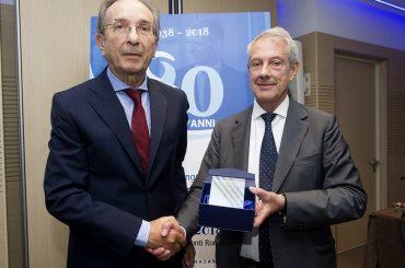Assemblea della Fondazione ENASARCO, premiato il catanese Agatino Caponetto, agente iscritto dal 1958