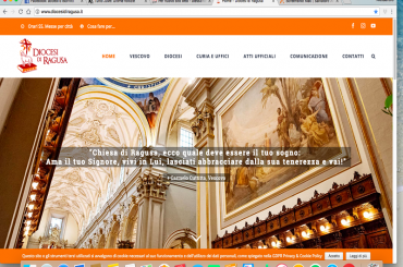 On line il nuovo portale web della Diocesi di Ragusa
