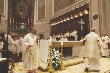L'anniversario dell'ordinazione episcopale di monsignor Cuttitta, «padre, maestro, fratello, costruttore della nostra Chiesa»