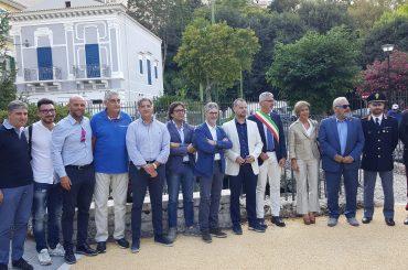 Peppe Cassì riapre Villa Margherita, presente l'ex vicesindaco Massimo Iannucci