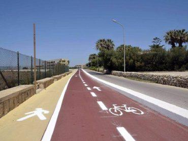 Modificata la viabilità a latere della pista ciclabile; da Marina si arriva direttamente a Casuzze