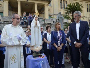 La Madonna Pellegrina di Fatima accolta a Ragusa, presenti il Prefetto e il Sindaco