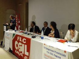 Adriano Rizza confermato segretario generale della FLC CGIL di Ragusa