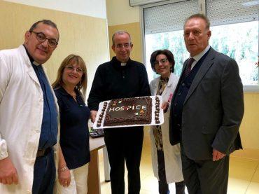 La celebrazione della memoria di San Luca all'hospice del Maria Paterno' Arezzo