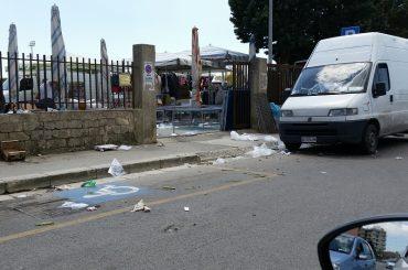 Mercati rionali: abbandono indiscriminato di rifiuti da parte degli ambulanti, lo sottolinea Fratelli d'Italia