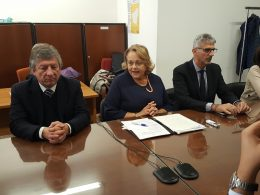 L'europarlamentare Leontini ospite a Palazzo dell'Aquila, la Presidente Raniolo lo considera di Forza Italia, l'onorevole ne parla come del suo ex partito