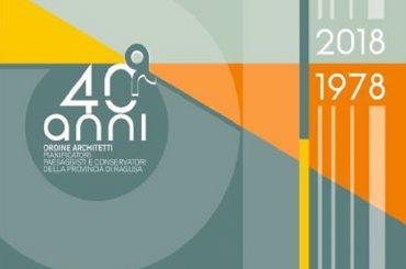 Le iniziative per i 40 anni dell'Ordine degli Architetti