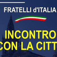 Fratelli d'Italia incontra la città
