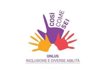 """L'Associazione onlus """"COSI' COME SEI"""" in piena attività"""