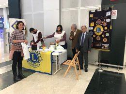 """AIAD e LIONS insieme per fare prevenzione, 300 screening della glicemia al centro commerciale """"LE MASSERIE"""""""