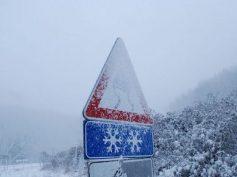 Attivato il presidio territoriale per il pericolo ghiaccio sulle strade