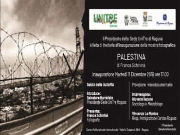 Franca Schininà mette a fuoco la Palestina