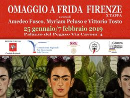 "Firenze ospita ""Omaggio a Frida"""