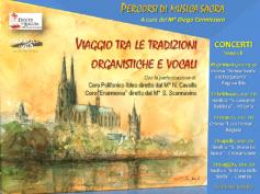 """""""Cultura per la vita"""", percorsi di musica sacra fra tradizioni organistiche e vocali"""