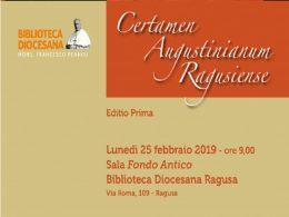 Giulia Bracchitta del Liceo Classico di Ragusa vince il Certamen Augustinianum Ragusiense