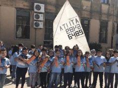 """Il Circolo Velico Kaucana miglior circolo della Sicilia per il progetto """"Vela A Scuola"""""""