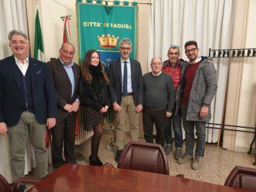 Incontro del Sindaco Cassì con la dirigenza del Ragusa Calcio 1949
