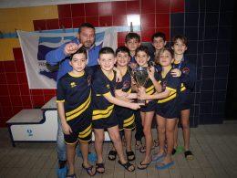 Regionali Esordienti B di nuoto: l'EREA Ragusa si piazza al terzo posto