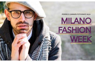 """Il modicano Federico Cannata fotografo alla """"Milano fashion week"""""""