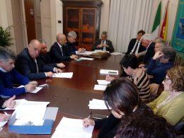 Oggi a Palazzo dell'Aquila riunione del Distretto sociosanitario 44