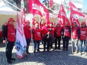 Sciopero generale dei lavoratori delle costruzioni, a Roma