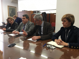 L'on. Giorgio Assenza ospite della Commissione Sviluppo economico del Comune di Ragusa