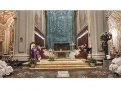 Commemorazione di mons. Angelo Rizzo e benedizione della tomba in Cattedrale