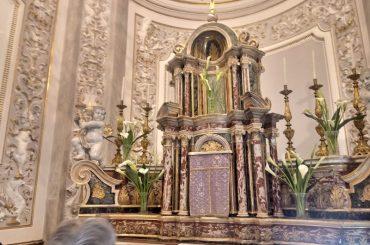 Completato il restauro della Cappella del Santissimo in San Giorgio, a Ibla