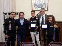 Premiati a Palazzo dell'Aquila due atleti della società ragusana Fight Club
