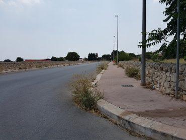 Interventi di scerbatura stradale e aree a verde