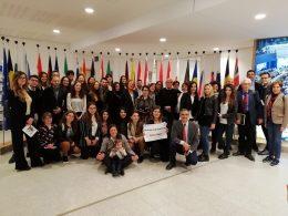 La sezione iblea del Movimento Federalista Europeo al Parlamento di Bruxelles