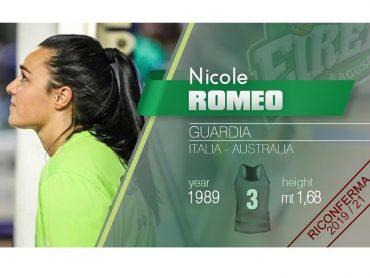 Un gradito buongiorno: Nicole Romeo ancora a Ragusa per le prossime due stagioni