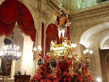 In Cattedrale, le celebrazioni del triduo di preparazione alla solennità della Nativita' di San Giovanni Battista, Santo patrono della Città e della Diocesi di Ragusa