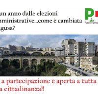 """""""Ad un anno dalle elezioni amministrative … come è cambiata Ragusa ?"""""""