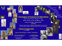 I lavori degli alunni del prof. Giliberto sulle chiese del territorio saranno presentati a Giarratana