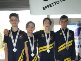 Nuoto: campionati regionali esordienti B, Perlini fa incetta di medaglie